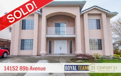 Sold – 14152 89b Avenue, Surrey, BC, V3V 7Y7