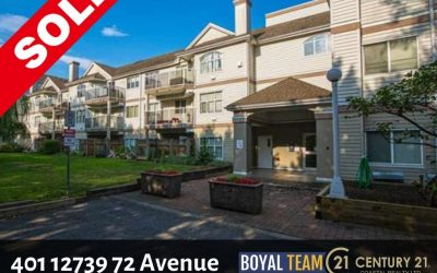 Sold – 401 12739 72 Avenue, Surrey, West Newton