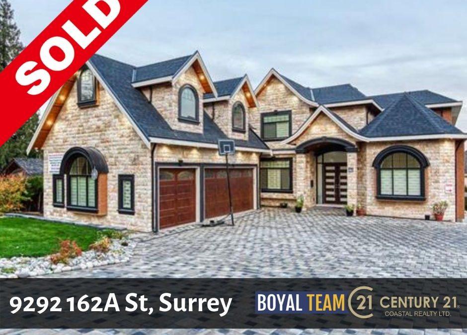 Sold – 9292 162A St, Surrey